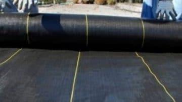 fraser valley cedar landscape fabric installation